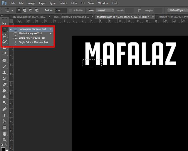 Cara Membuat Tulisan CRIS7ANO Ala Juventus Di Photoshop - 6