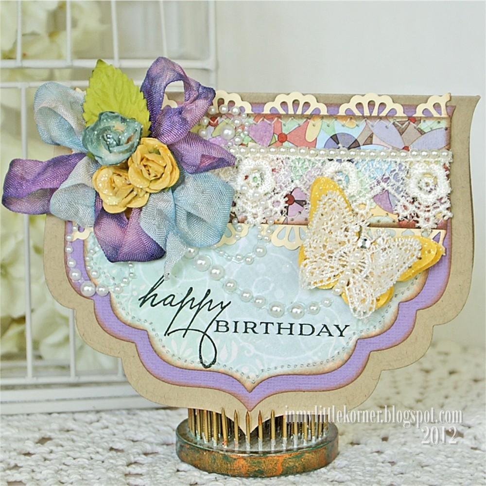Martha Stewart Birthday Cake Art Cricut Cartridge