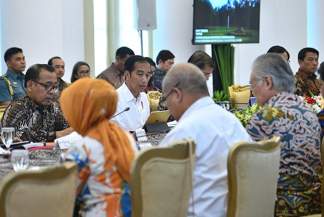 Jokowi Minta Ekspor Ditingkatkan Agar Cadangan Devisa Negara Menguat