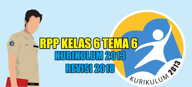 rpp kelas 6 tema 6 kurikulum 2013 revisi 2018 tahun 2020