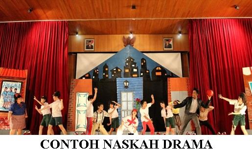 10+ Contoh Teks Naskah Drama Singkat Terbaru 2018