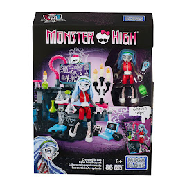 MH Creeperific Lab Ghoulia Yelps Mega Blocks Figure