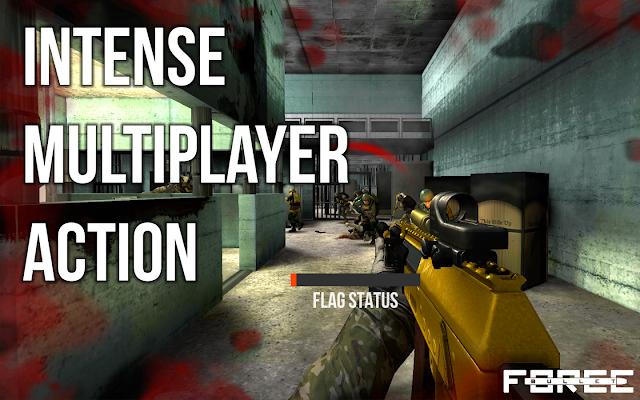 إليك قائمة لأفضل الألعاب الحربية  من منظور الشخص الأول (FPS) لأجهزة الاندرويد