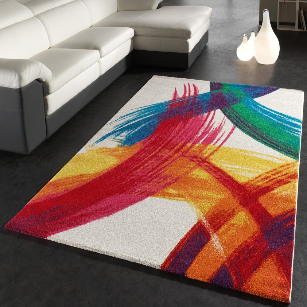 achat tapis salon contemporain pa cher