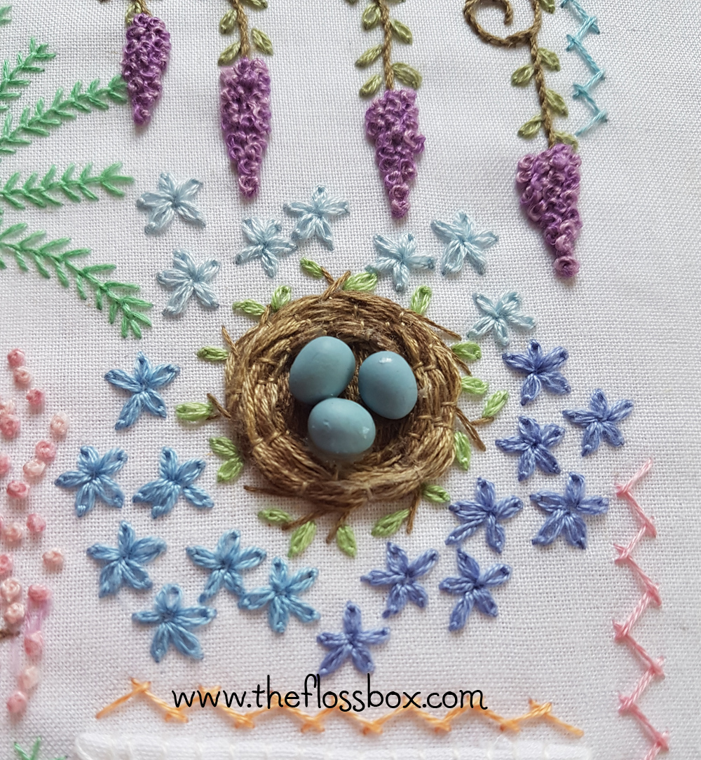 The Floss Box How To Make An Embroidery Nest