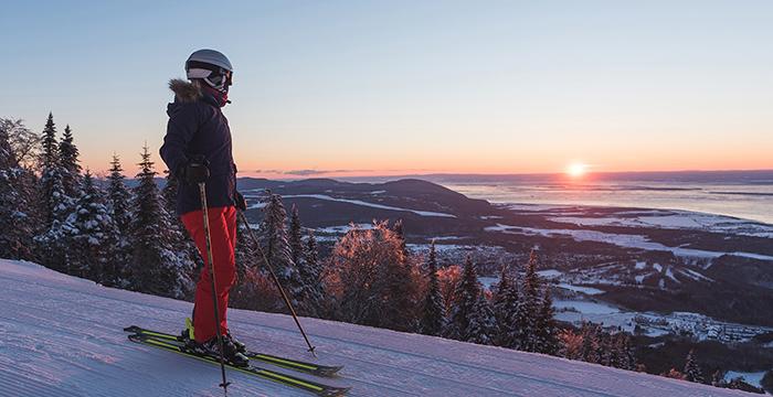 lugares para esquiar en estados unidos, alberta canada, mont tremblant,