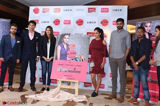 Indian Tennis Star Sania Mirza Pos in Red Short Dress at  0027.jpg