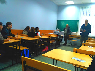 Зустріч студентів з представником компанії Global Bilgi