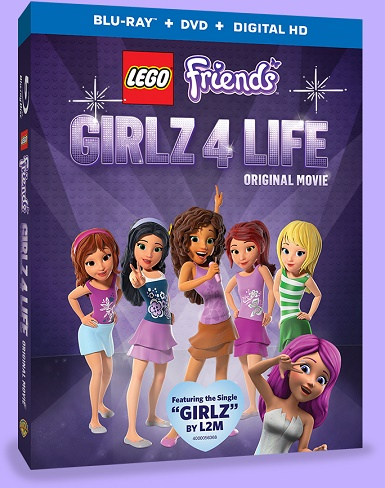 Bless Their Hearts Mom: Movie Monday: LEGO FRIENDS: GIRLZ 4 LIFE DVD ...