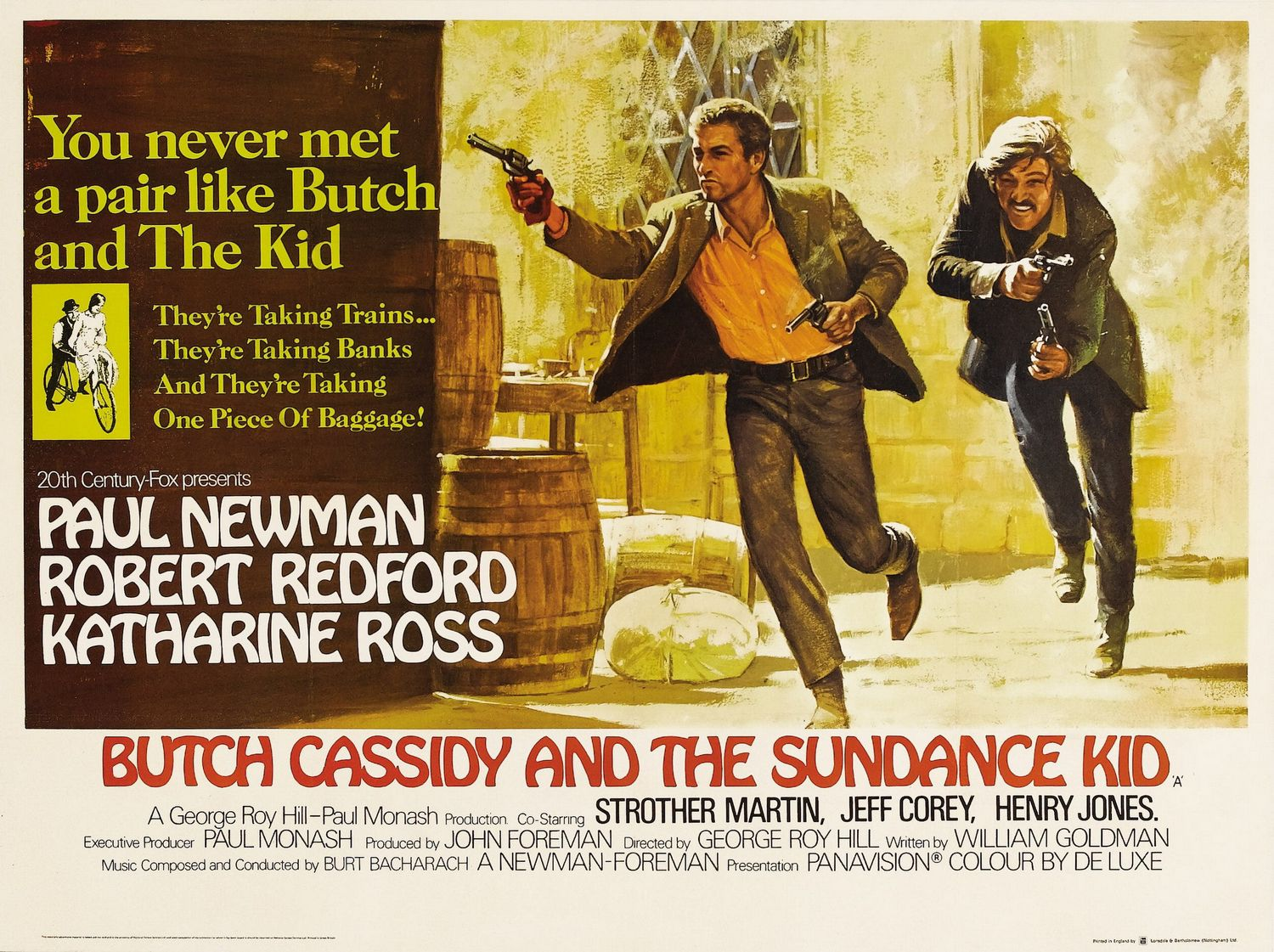 The Retrogrouch Bikes In Cinema Butch Cassidy And The Sundance Kid
