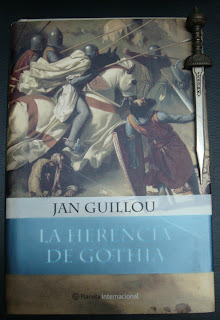 Portada del libro La herencia de Gothia, de Jan Guillou
