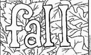 printable fall coloring pages free coloring sheet