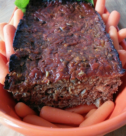 Mom Knows Best Marvelous Mushroom Vegetarian Meat Loaf