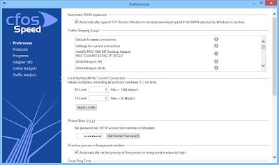 cFosSpeed 10.12 Build 2262 Full + Crack โปรแกรมเพิ่มความเร็วอินเทอร์เน็ต