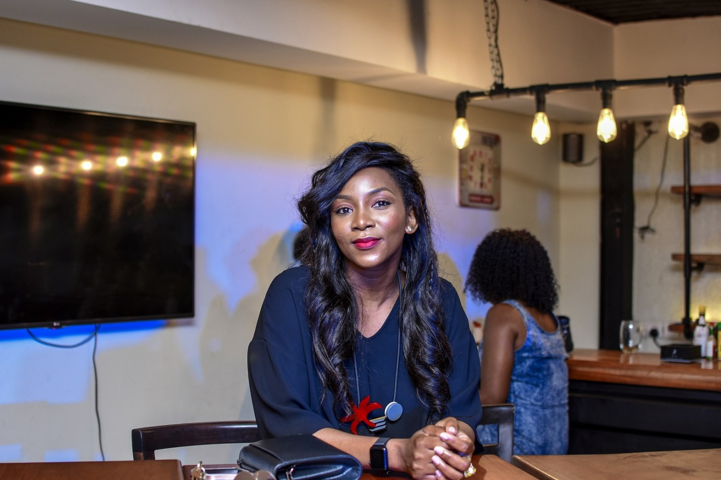 Genevieve Nnaji Looks Younger At The Johnnie Jazz Whisky Event