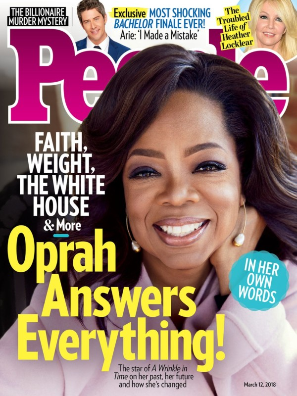 Oprah Winfrey Reveals a Sign from God is the One thing that can make her Run for President