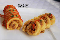 spicy cake roll