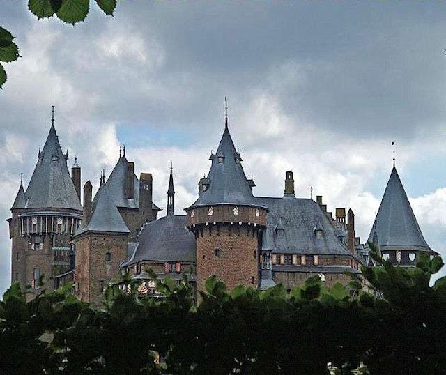Castelo Kasteel de Haar, Utrecht, Holanda
