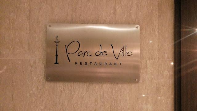 parce de ville restaurant