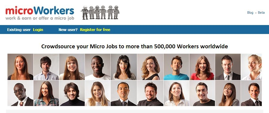 Earn Money Online with Microworker