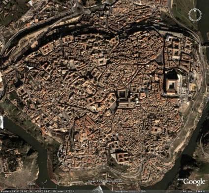 Resultado de imagen de Urbanismo medieval de Toledo