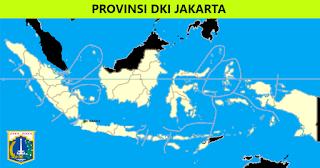 Peta Provinsi DKI Jakarta