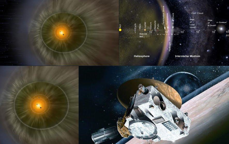"""Sonda spaziale NASA scopre """"muro"""" ai margini del Sistema Solare."""