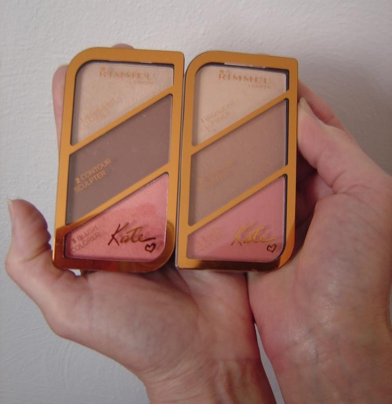 Rimmel Kate Sculpting and Highlighting Palettes (Coral Glow, Golden Bronze) Review + Swatches!