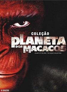 Coleção O Planeta dos Macacos (1968-2014) BluRay 720p Dublado - Torrent Download