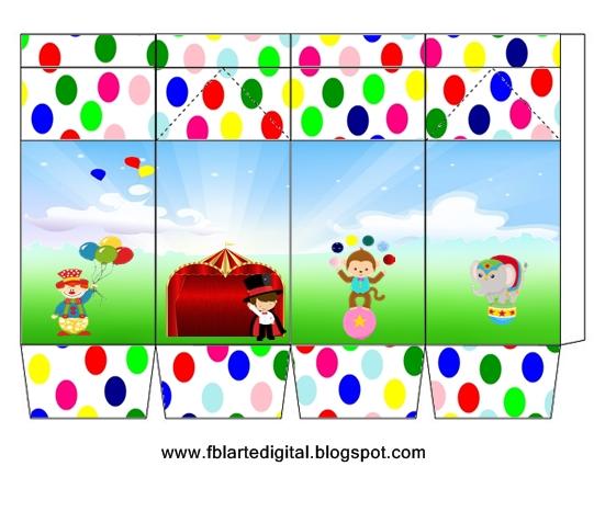 Fbl Arte Digital Kit Festa Circo Para Imprimir Totalmente Gratis