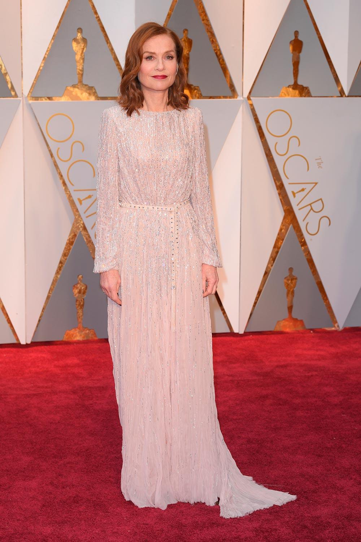 Isabelle Huppert - Armani Privé Oscars 2017