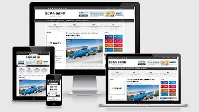 Sora Bank Blogger Template Responsive Free - sora template