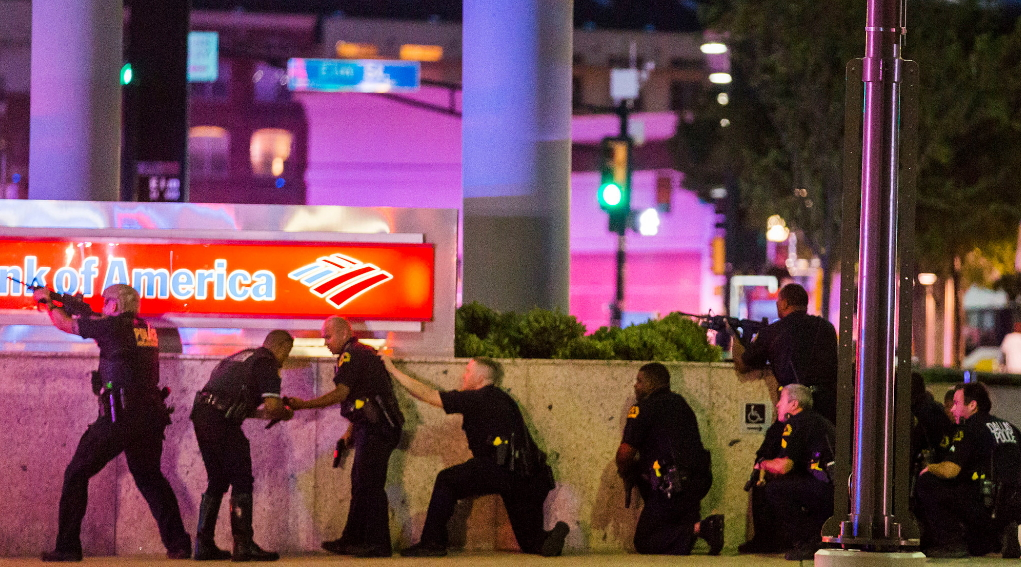 4 policemen killed dallas texas