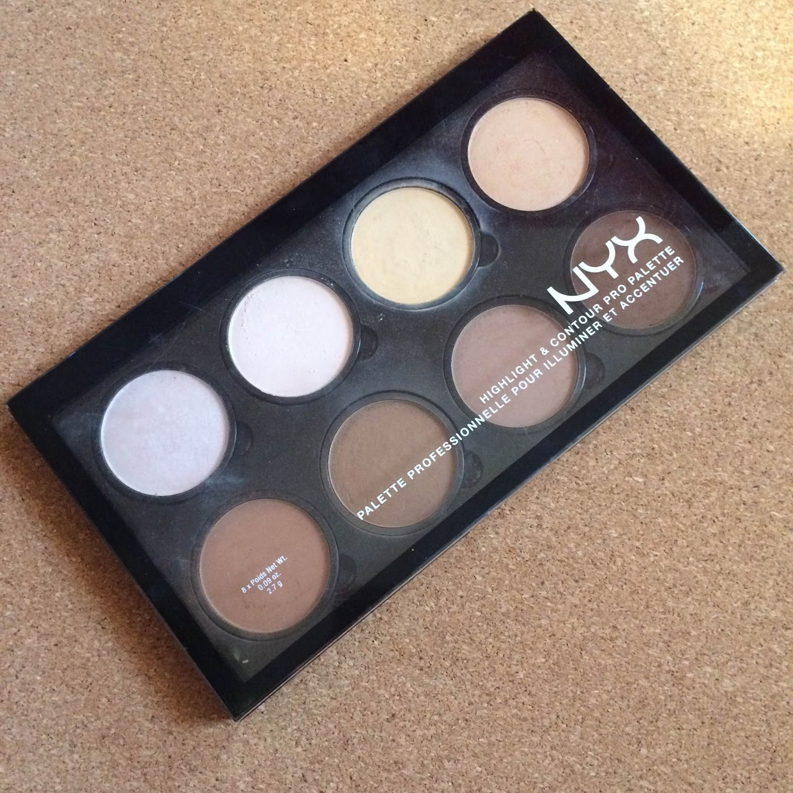 review swatches dupe nyx highlight and contour pro. Black Bedroom Furniture Sets. Home Design Ideas