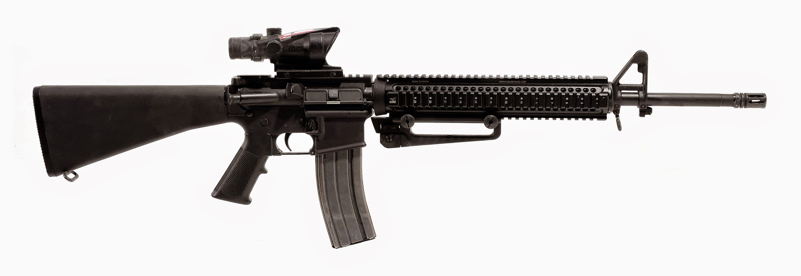 United States Ground Forces: M16 M16a4 Assault Rifle