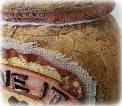 Vintage Marmite Jar - Nikki Acton