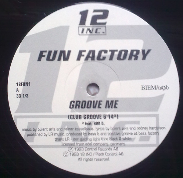 Sucessos De Sempre Fun Factory Groove Me