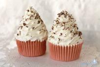 Jabon Cupcake Remolino Blanco