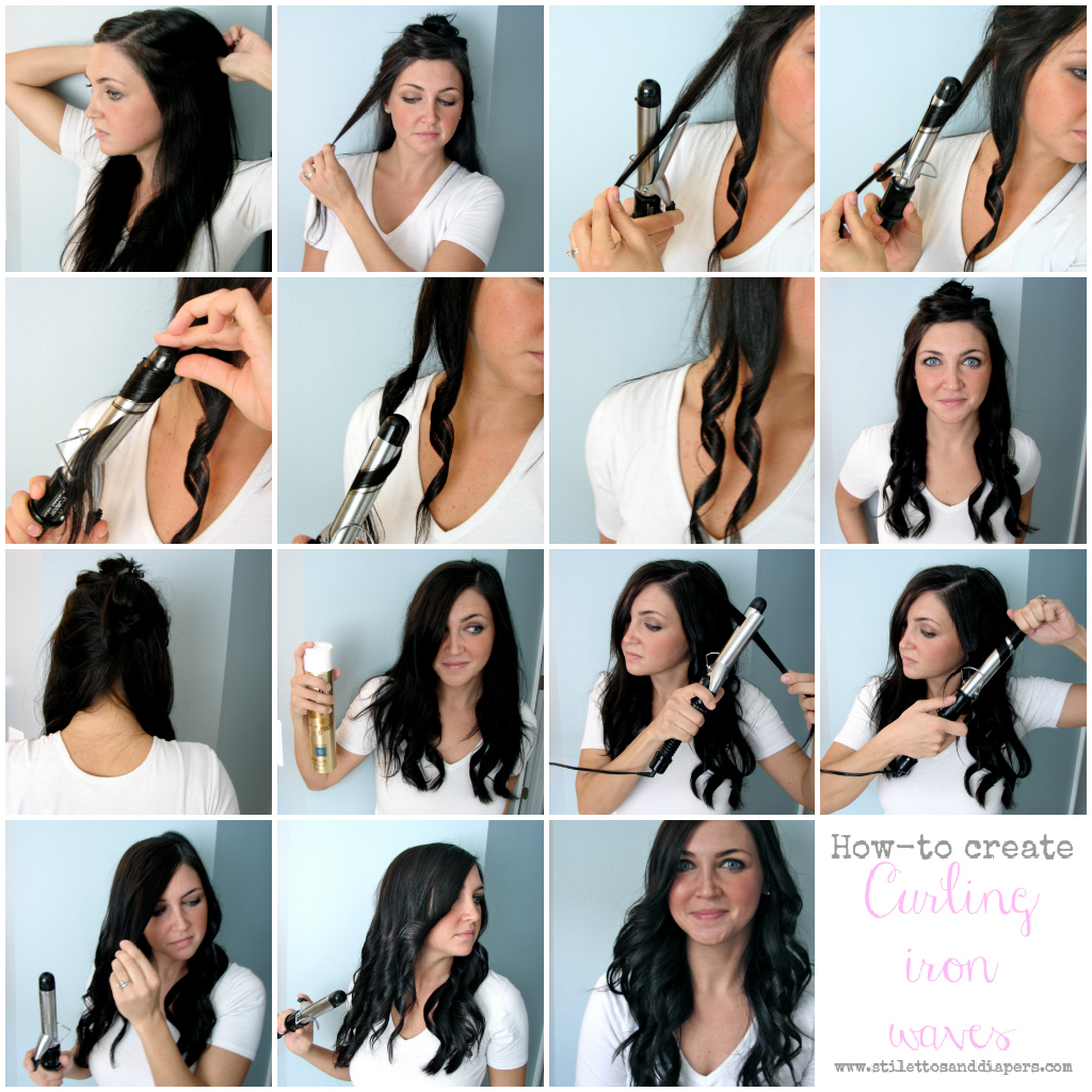 Stilettos And Diapers: Hair How-to: Curling Iron Waves
