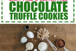 Dairy Free & Gluten Free Chocolate Truffle Cookies