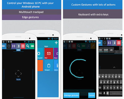 How to handle the new features of Windows 10, including Cortana from Android