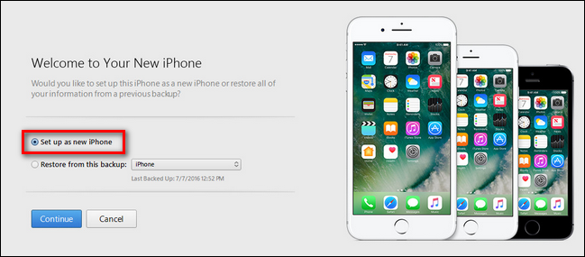 backup iCloud dei dati dell'iphone
