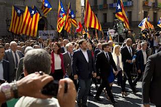 οι δήμαρχοι της Καταλονίας