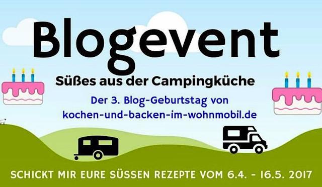 Blogevent Süßes aus der Campingküche