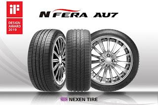 Nexen Tire, premiada de nuevo por el N'Fera AU7 su neumático UHP para berlinas de alta gama