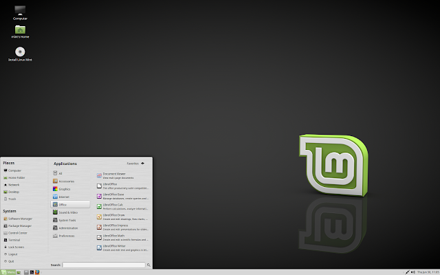 Linux Mint 18 MATE Edition