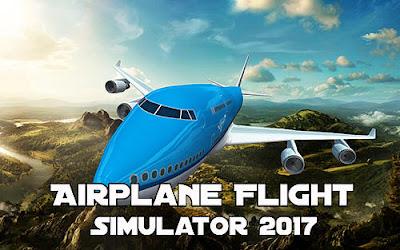 Airplane flight simulator 2017 v1.04