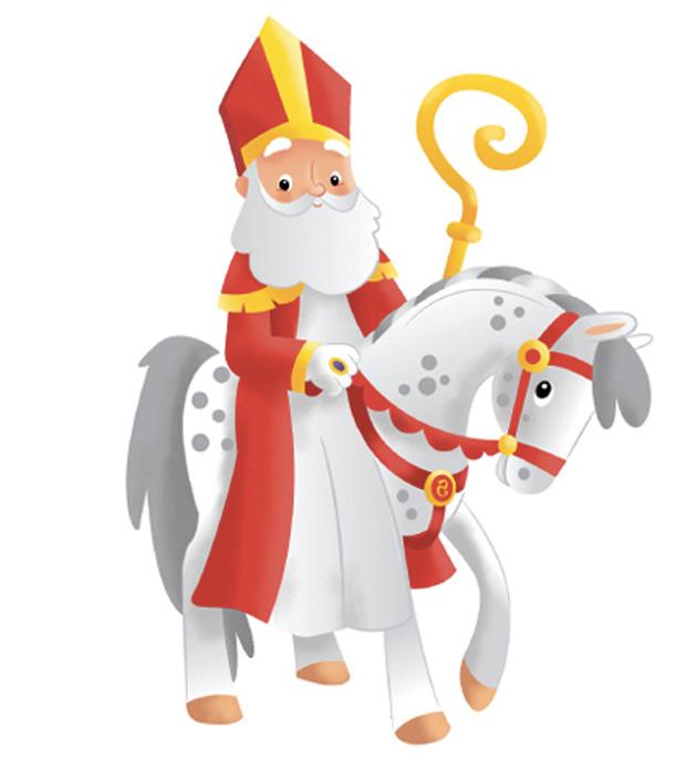 Tics en fle saint nicolas histoire l gende et la recette du mannele - Image de saint nicolas a imprimer ...
