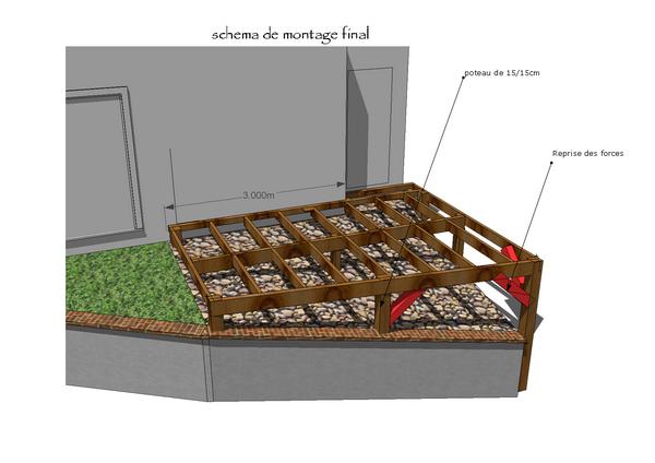 terrasse bois suspendue. Black Bedroom Furniture Sets. Home Design Ideas