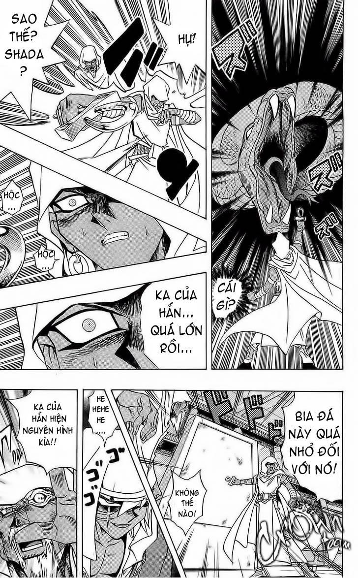 YUGI-OH! chap 285 - bakura, vua trộm trang 14